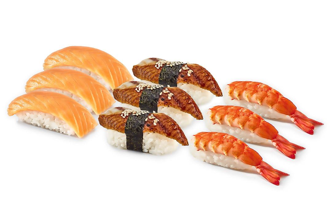 Набор Три суши (9 шт) 280гр