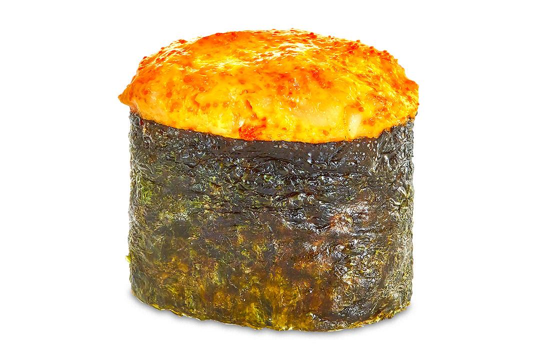 Суши Запечённая креветка (1 шт) 40 гр